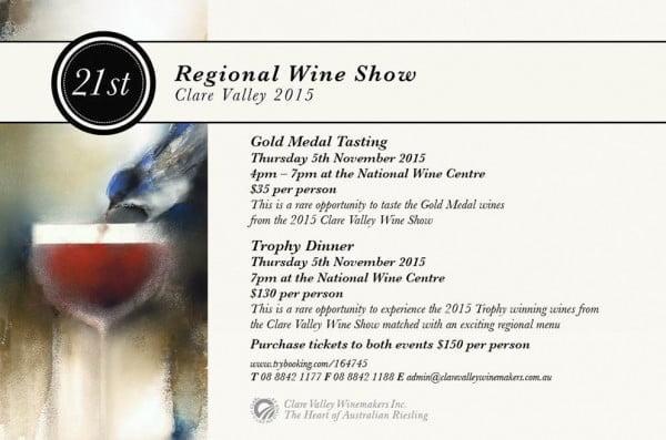 clare wine show